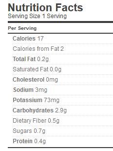 corn relish nutrition bernardin p 76