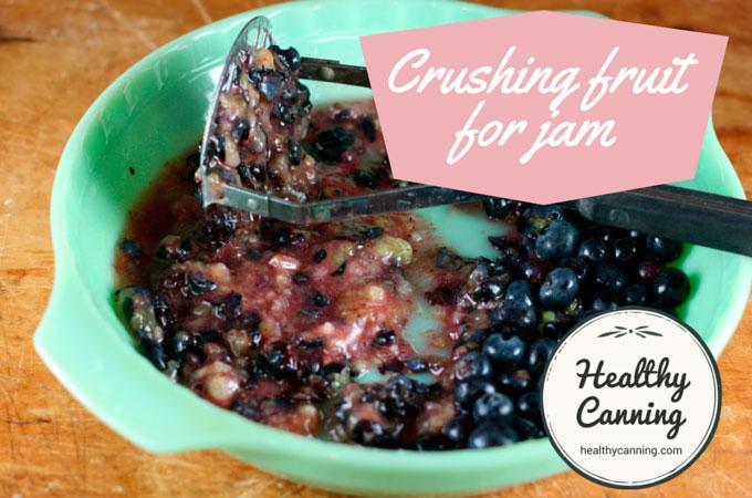crushing fruit for jam 3