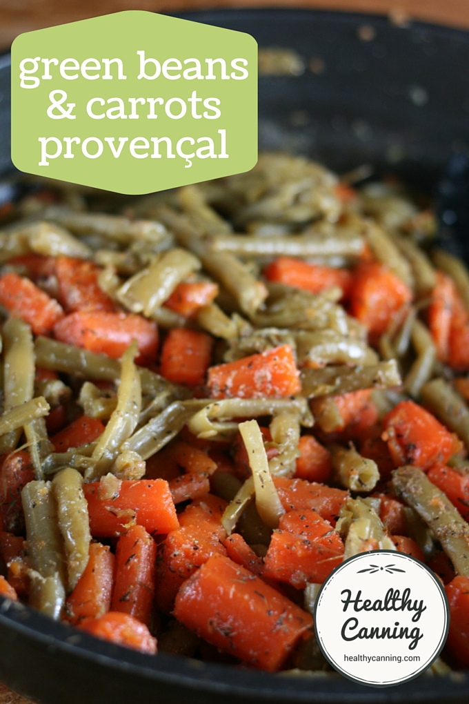 green beans and carrots provencal 001