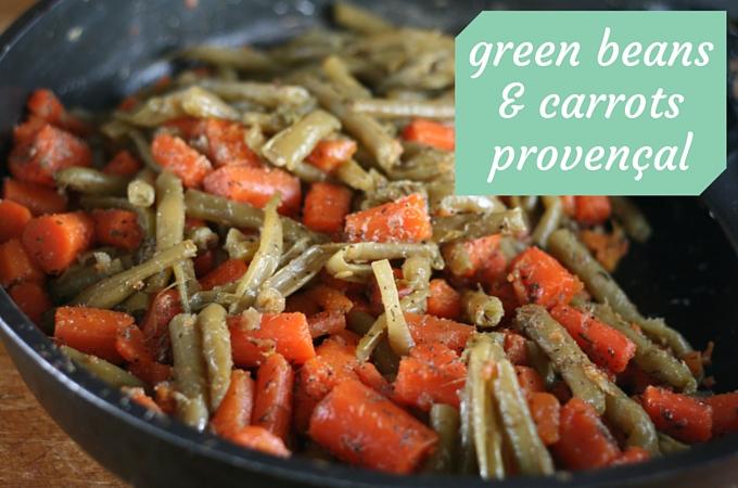 green beans & carrots provencal 002