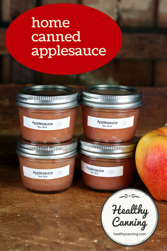 home canned applesauce 001