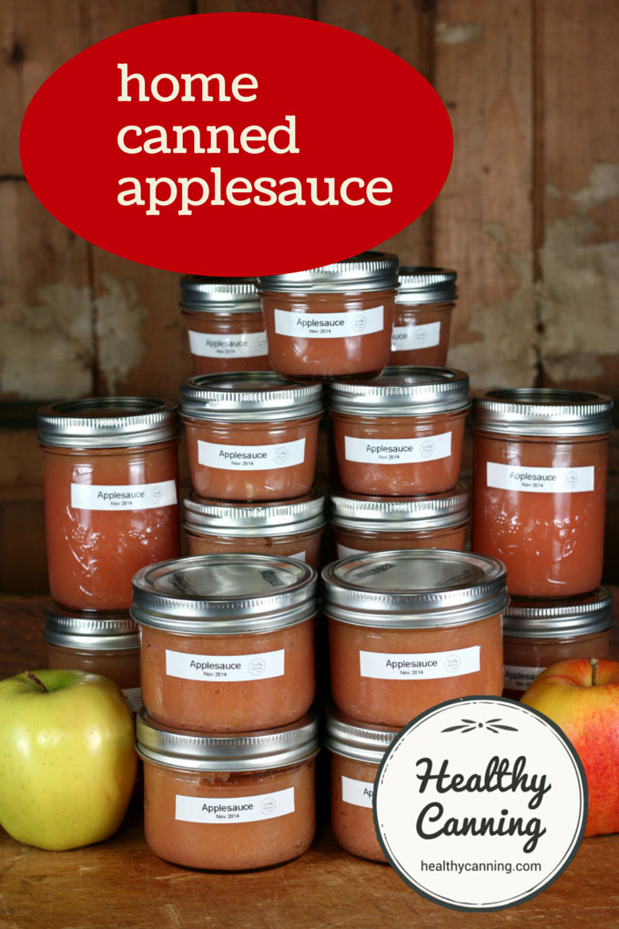 home canned applesauce 002