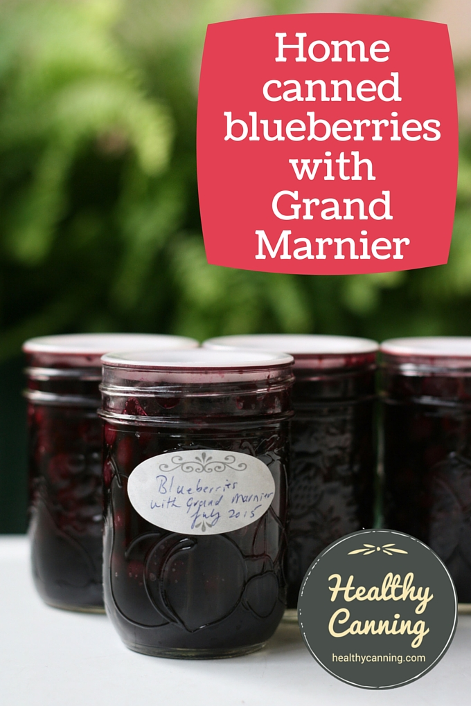 home canned blueberries with grand marnier 02