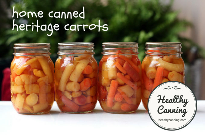 home canned heritage carrots 001