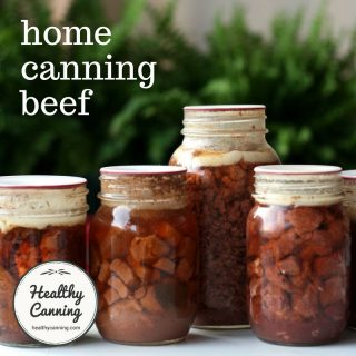Canning beef