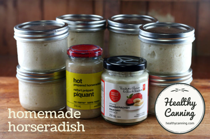 You won't necessarily save any money compared to store bought horseradish, but, the homemade is delicious, and, you know what isn't in it.