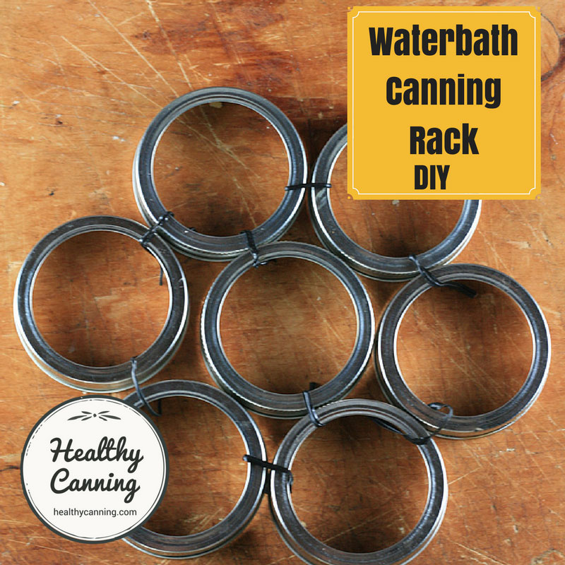 Improvised Canning Rack / Bottom Trivet