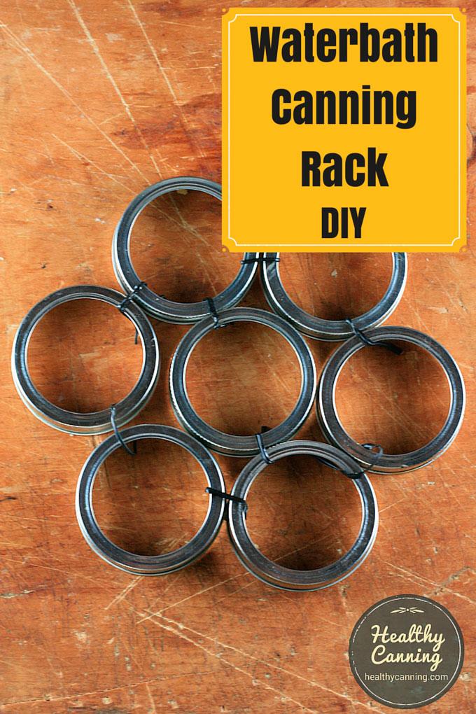 Improvised Canning Rack / Bottom Trivet