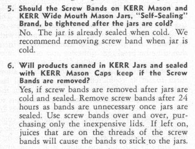 Kerr Screw Bands