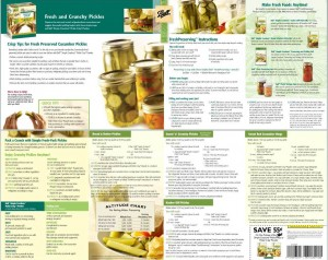 Pickle Crisp Brochure