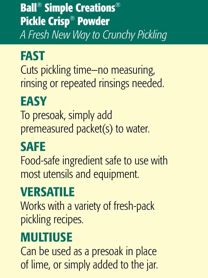 Pickle Crisp Pre Soak
