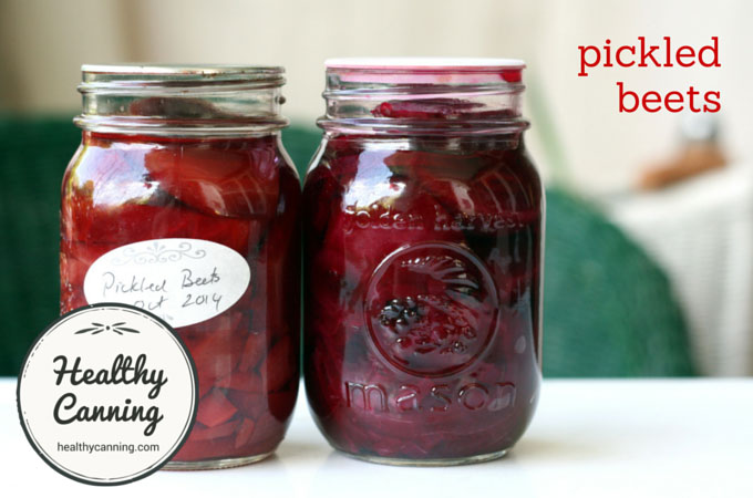 Canning Beets Without A Pressure Cooker Pickled beets - Healthy Canning