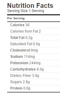 pickled eggplant nutrition regular