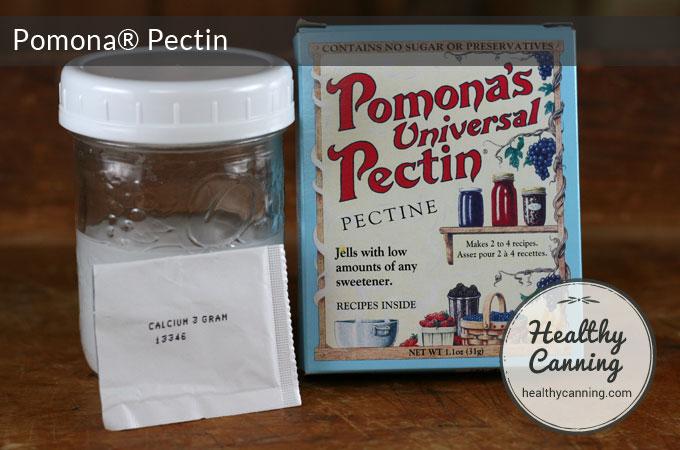 Pomona Pectin calcium water