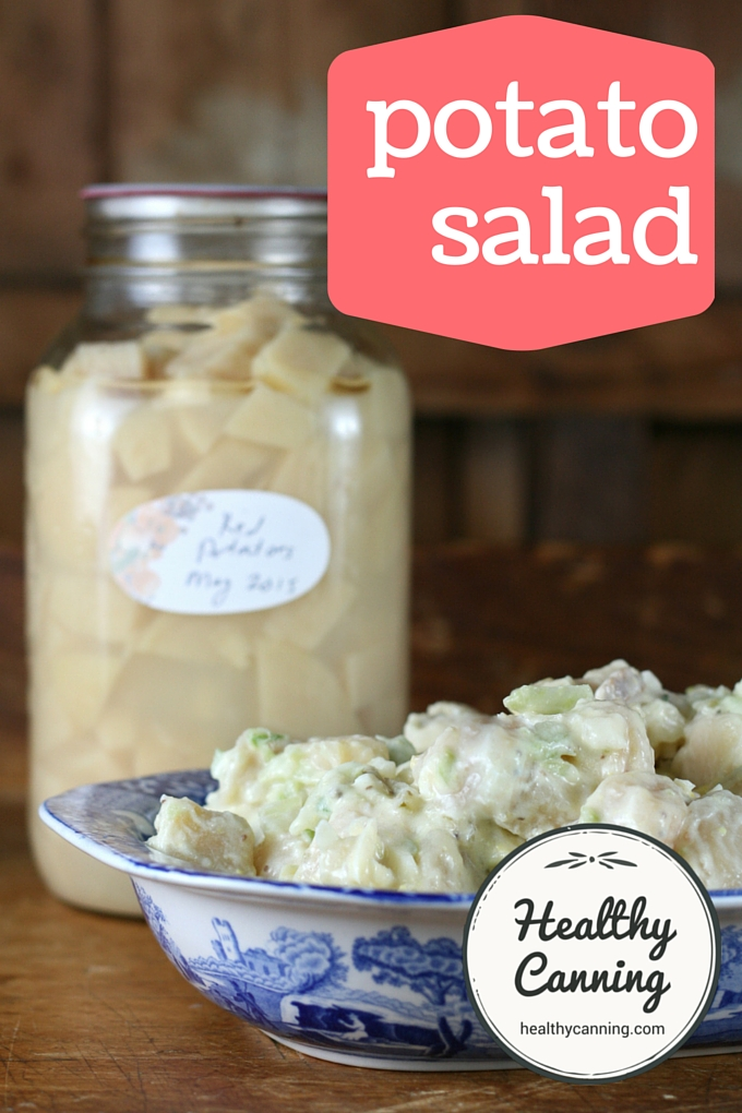 Potato salad from home canned potatoes