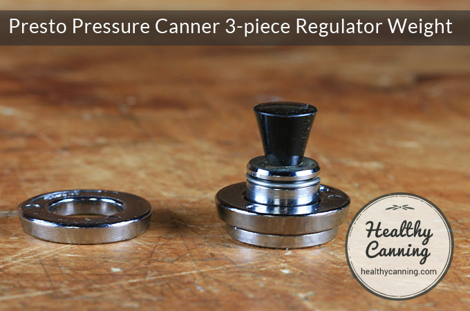 Presto Pressure Canner 3-piece Regulator Weight