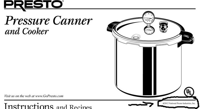 Presto 16 quart pressure canner | pressure cooker outlet.