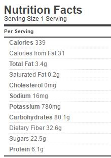 raspberry-pie-filling-nutrion-sugar-free
