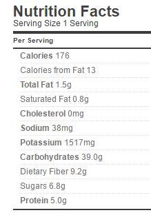 rhubarb-pie-filling-nutrition