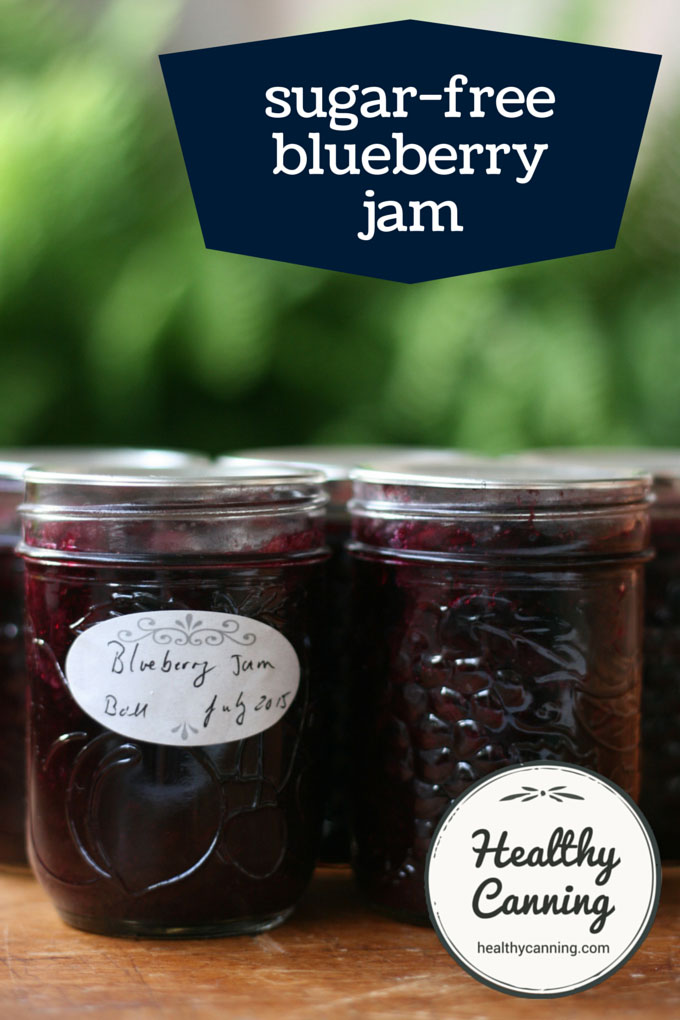 sugar free blueberry jam 001