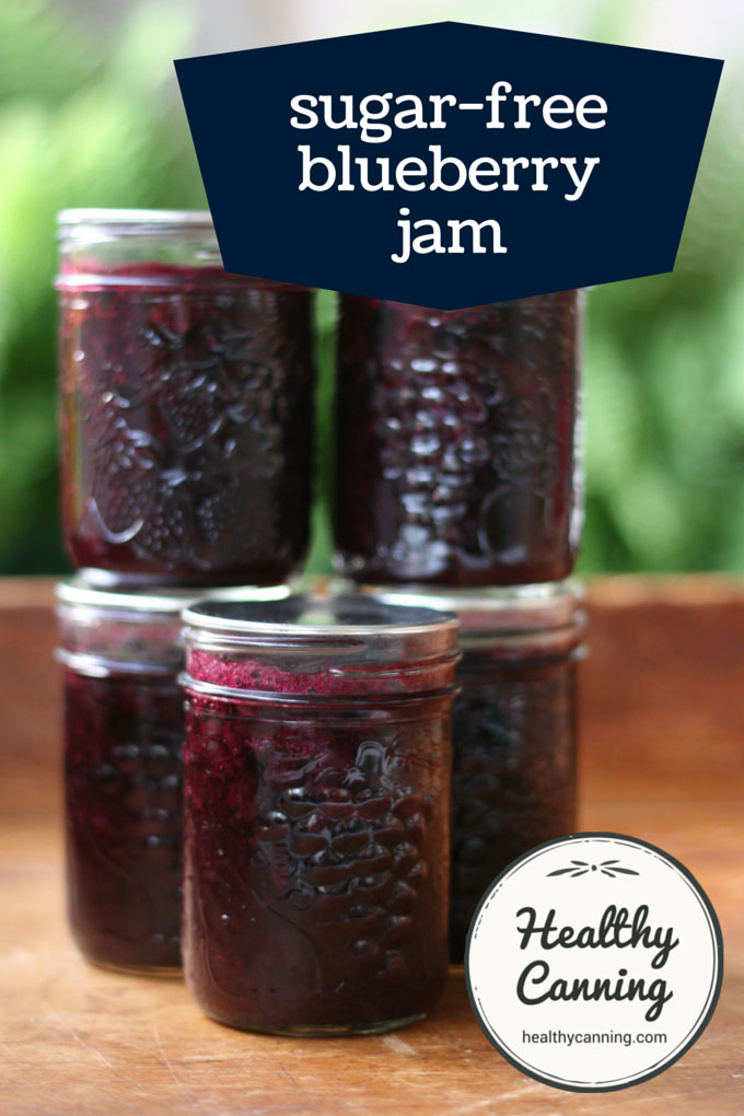 sugar free blueberry jam 002