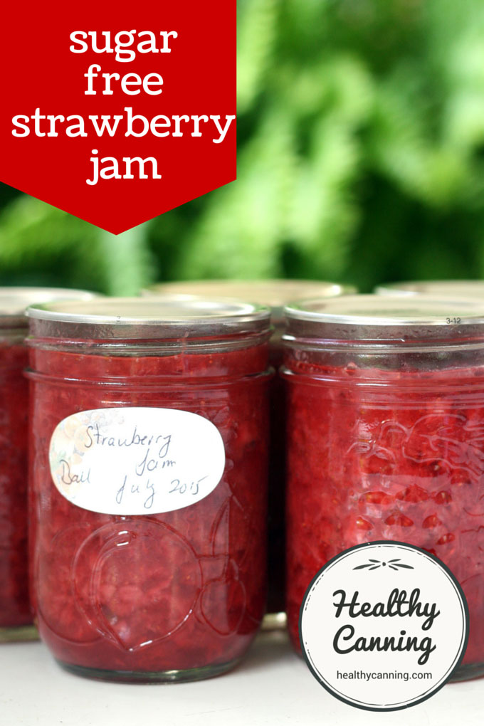 sugar-free strawberry jam 001