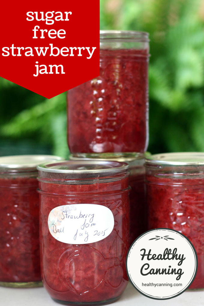sugar-free strawberry jam 002