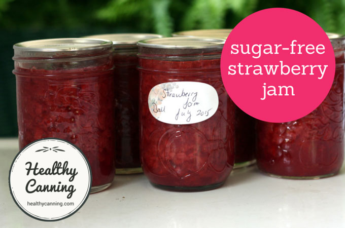 sugar-free strawberry jam 003