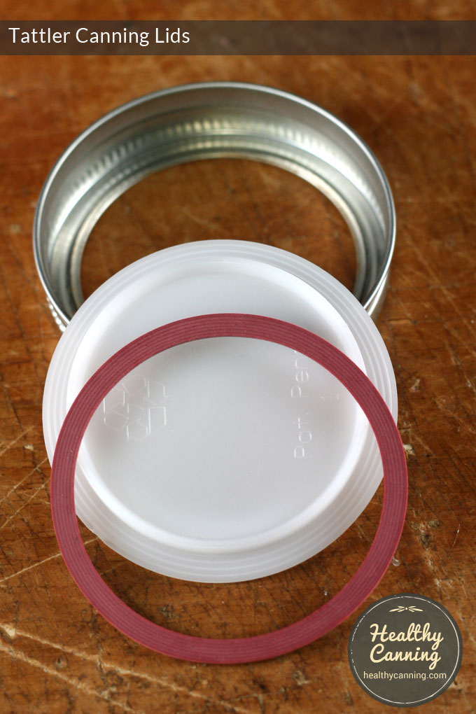 tattler canning lids with canning ring