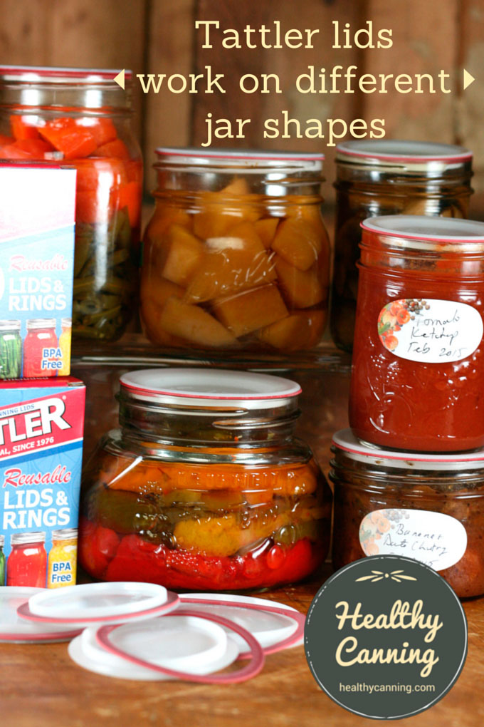 Tattler lids and jar shapes