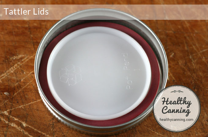 tattler lids inside canning ring