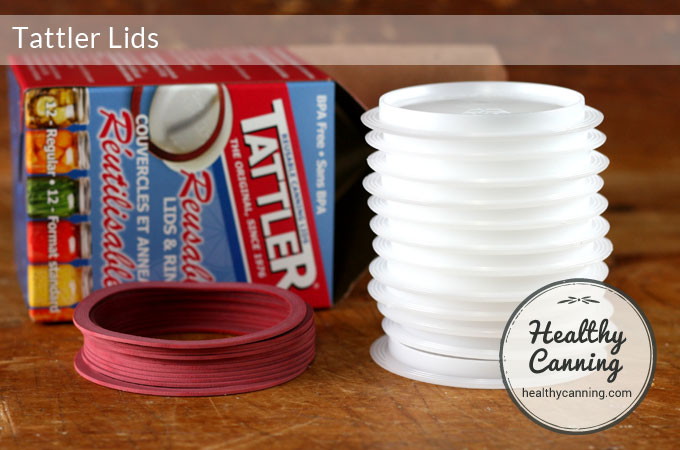 tattler lids stacked