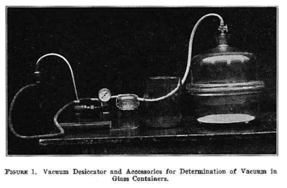 vacuum dessicator