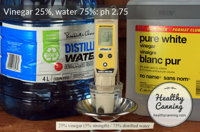 vinegar-25-water-75