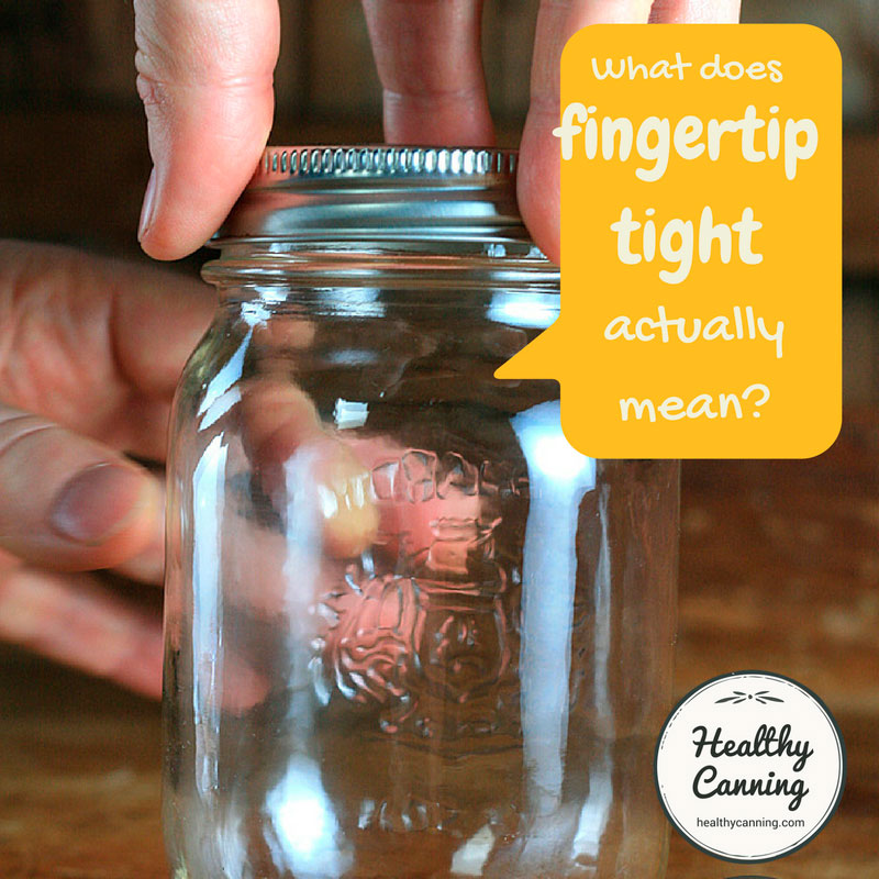 What the heck does fingertip tight actually mean?