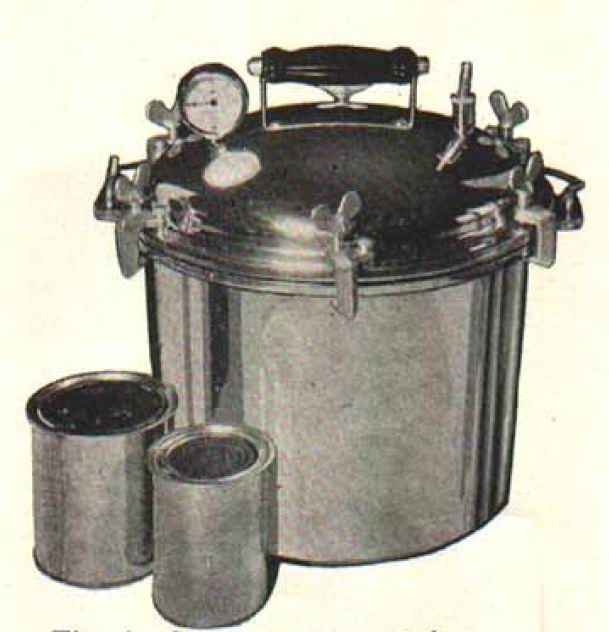Gilbert, Muriel Dundas. Successful Home Canning. Michigan Extension Bulletin No. 132. May 1933. Page 6. Accessed March 2015 https://archive.lib.msu.edu/DMC/Ag.%20Ext.%202007-Chelsie/PDF/e132.pdf